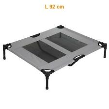 Dog Bed Small Folding Portable Metal Frame Indoor/Outdoor Weather Resistant
