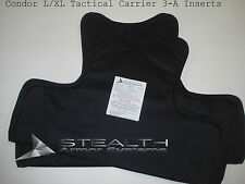 100% Level 3-A Kevlar BALCS Panels Size L/XL Condor Tactical