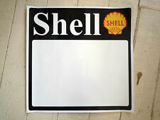 SHELL Large DOOR PANEL Race Car STICKERS 500mm Pair Rally Racing Vinyl Decal New