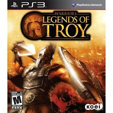 WARRIORS LEGENDS OF TROY *NEW* Sony Playstation PS3