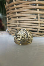Sterling Silver 925 North American Hunting Club Life Member Ring, size 10.5