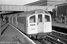 London Underground 1960 stock Acton Town 1972 Rail Photo