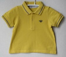 BABY DIOR YELLOW POLO SHIRT 12 MONTHS