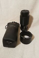 TOKINA 70-210mm f/3.5  MANUAL LENS FOR AE  CANON CAMERA �� EXCELLENT CONDITION.