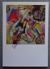Carte postale KANDINSKY Tableau à la tache rouge postcard