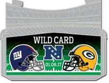 2016 NEW YORK GIANTS GREEN BAY PACKERS NFC WILD CARD PIN BECKHAM RODGERS NEW