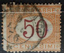 1890  Regno D'Italia  50 centesimi  segnatasse