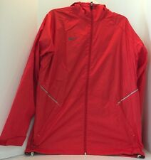 Nike Storm-Fit Hooded Jacket Running Red Jacket Athlete 378247 657 SZ M NWT