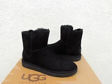 UGG 2016 ABREE MINI BLACK SUEDE/ SHEARLING WINTER BOOTS, US 6/ EUR 37 ~NIB
