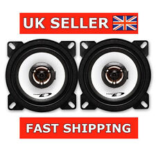 "ALPINE SXE-1025s 4"" 180W Coaxial Car Audio Stereo Front/Rear Door 10cm Speakers"