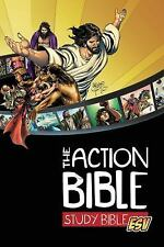 The Action Bible Study Bible ESV (Hardcover) by Cook, David C