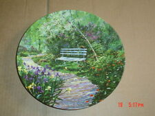 W S George Fine China Collectors Plate THE WOODLAND GARDEN