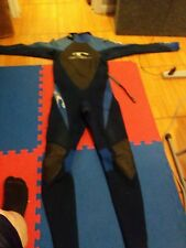 O'neill wetsuit very good condition dark blue, light blue, black barrier mens