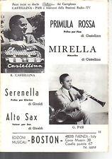SC18 SPARTITO Primula rossa- Mirella-Serenella-Alto sax (Castellina-Pasi) -1972