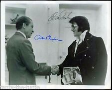 Elvis And President Nixon  8 x 10 Autograph Reprint