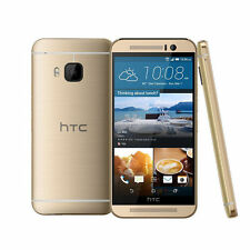 """New HTC One M9 AT&T Unlocked 4G LTE 32GB 5"""" Android Smartphone Gold"""