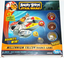 NEW - Angry Birds Star Wars Millennium Falcon Bounce Game By Hasbro Gaming Kids