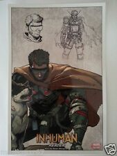 SDCC Comic Con 2014 Handout MARVEL NOW Inhuman READER art print by STEGMAN