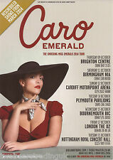 Event Promo Flyer: Caro Emerald - The Shocking Miss Emerald UK Tour 2014