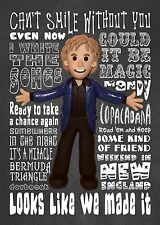 Inspired by Barry Manilow Greeting Birthday Card