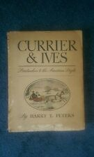 1942 CURRIER AND IVES PRINTMAKERS AMERICAN PEOPLE BOOK