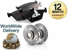 FOR TOYOTA CARINA E 1.6 2.0D 1992-1997 NEW FRONT BRAKE DISCS SET + DISC PAD KIT