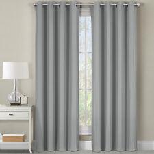 """Luxor Heavyweight Cotton Room Darkening Grommet Top Window Curtains 54W x 63""""L"""