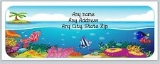 30 Personalized Return Address Labels Under the Sea Buy 3 Get 1 free(c656)
