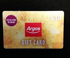 Argos £10 Gift Card/Voucher