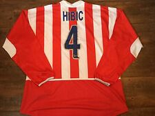 2002 2003 Atletico Madrid Player Issue L/s Hibic Football Shirt Camiseta Spain