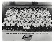1951 NEW YORK GIANTS 8X10 TEAM PHOTO BASEBALL MLB PICTURE NY NL CHAMPS