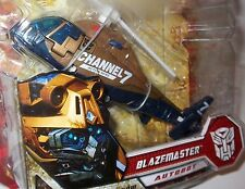 BLAZEMASTER CHANNEL 7 COPTER Transformers ROTF Movie 2 Deluxe Figure 2009 MOC