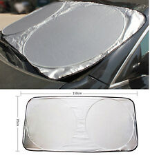 Front Rear Windshield Car Window Foldable Sun Shade Shield Sun Visor UV Block