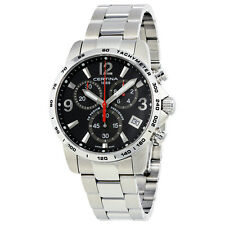 Certina DS Podium Chronograph Black Dial Mens Watch C034.417.11.057.00