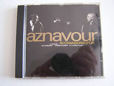 CD AZNAVOUR 20 chansons d'or