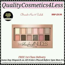 Maybelline Blushed Nudes Eyeshadow Palette - Sealed + FREE 1st Class Delivery