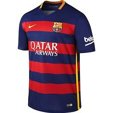 Nike FC Barcelona 15/16 Home Men's Training Shirt (S) 658794 422
