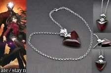 FATE STAY NIGHT COLLANA NECKLACE MANGA EMIYA SHIRO SABER COSPLAY PIETRA STONE #1