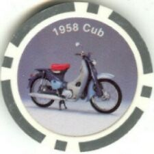 5 color HONDA MOTORCYCLES poker chips samples set #208