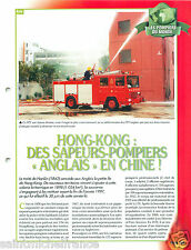 Boat Pump Equipments Firefighting apparatus Hong Kong Pompier FICHE FIREFIGHTER