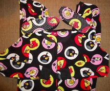 Angry Birds Footed Pajamas Costume Fleece Footie M or L HTF NEW LAST ONES