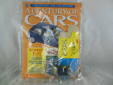 A Century of Cars no. 73 Renault Clio in Blue with Box & Magazine Sealed