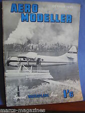 AEROMODELLER OCTOBER 1955 MERBABY PLANS VIC SMEED WATERPLANE ISSUE