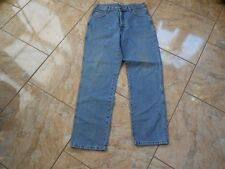 H0364 Wrangler Idaho Jeans W34 Mittelblau ohne Muster