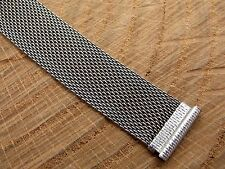 1920's-1930's Vintage Mesh Deployment Watch Band 17.5mm 11/16 Inch For Bulova