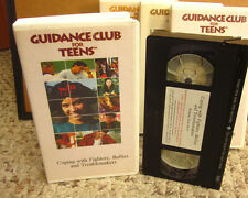COPING WITH BULLIES anger management Guidance Club For Teens VHS class conflict