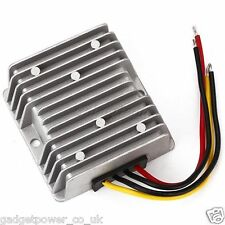 5A 120W DC-DC STEP UP BOOST CONVERTER 12V TO 24V TRUCK CAR W/PROOF + HEATSINK
