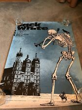 The Silent Giants-Jack White, Krakow, POLAND-Poster Print- SOLD OUT!
