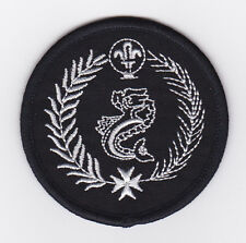 SCOUTS OF MALTA - VENTURE DOLPHINE SCOUT Highest Rank Top Award Patch