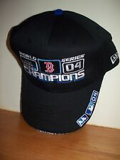 One Size Fits All BOSTON RED SOX 2004 WORLD SERIES CHAMPIONS HAT CAP New Era